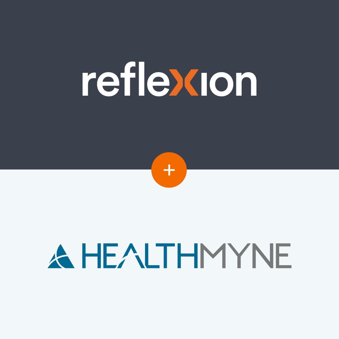 reflexion and healthmyne logos