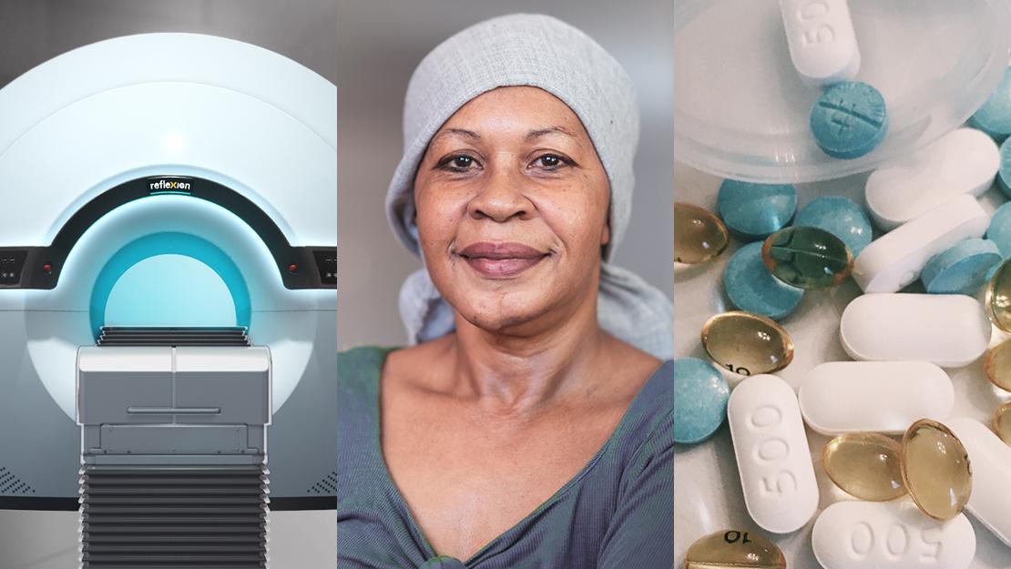 reflexion x1 machine, cancer patient, medicine